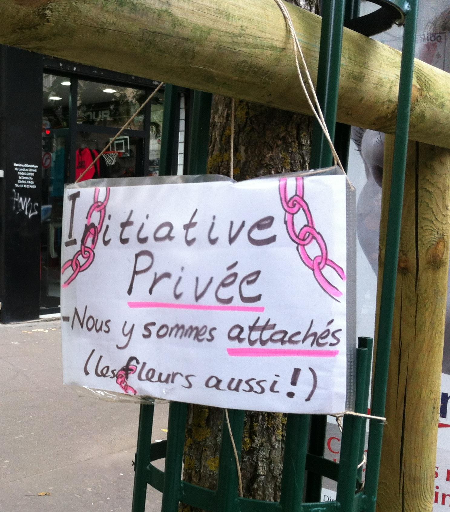 Initiative privée © Marjorie Llombart