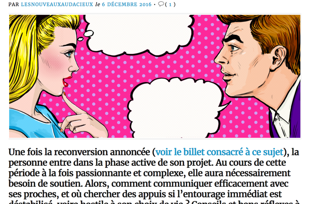 Comment tenir le cap de la reconversion ?