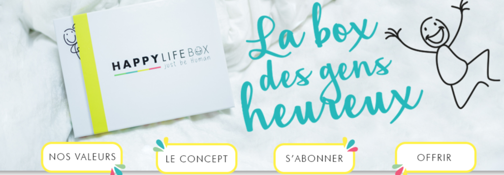 Happy Life Box, la Box des gens heureux !